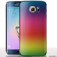 Coque telephone Samsung Galaxy S6 Popsicle - Housse rigide a clipper ou Silicone Souple. #Coque #S6 #popsicle #Couleur