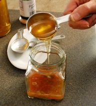Home Remedy for soar throat, hacking cough, tight congestion... Using this in the winter instead of all those mucus relief drugs and decongestants that dont do a thing.