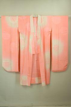 Pink Gradation Nagajuban, Chrysanthemum Pattern / ピンクぼかし地 菊文柄 振袖用長襦袢 #Kimono #Japan http://www.rakuten.co.jp/aiyama/