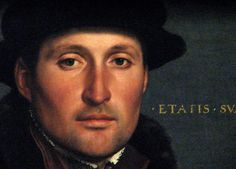Portrait of a Young Man, Holbein the Younger (1541)  Kunsthistorische, Vienna