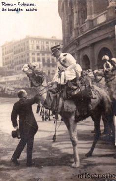 Roma Sparita - Mussolini e Gabriele D'Annunzio