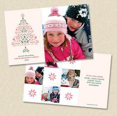 Sugar Plum Tree holiday card by Carol Fazio for ruvacards.com. $1.49/each https://www.ruvacards.com/product/1425.34.1/Sugar-Plum-Tree.html