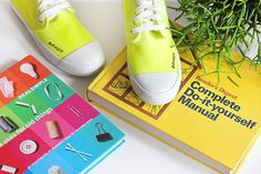 Dip Dyed Neon Sneakers to Kick It In | eHow Style | eHow