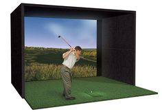 Home Golf Simulator Buildout - Want to install a golf simulator in the basement for the husband.