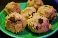 MY HCG DIET RECIPES: HCG DIET Phase 3 (P3) RECIPE #14: CHOCOLATE CHIP & COCONUT COOKIES