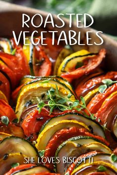 Summer Vegetable Recipes, Vegetable Side Dishes, Italian Soup, Italian Recipes, Vegetarian Recipes, Cooking Recipes, Healthy Recipes, Best Roasted Vegetables, Veggies