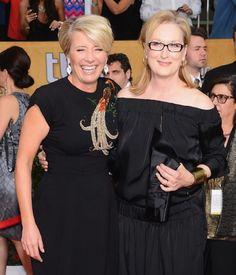 Meryl Streep and Emma Thompson