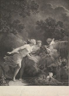 La Fontaine d'Amour. After Jean Honoré Fragonard (French, Grasse 1732–1806 Paris) .