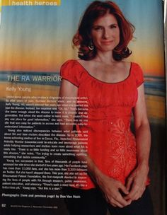 My Hero, Kelly Young www.rawarrior.com Twitter: @rheum_chat @RAWarrior  #Rheumatoid #Patient #Foundation www.rheum4us.org #RPF @RheumPF #Rheumatoid #Autoimmune #Disease #RAD / #Rheumatoid #Arthritis #RA
