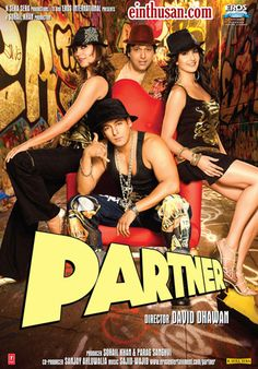 Partner Hindi Movie Online - Salman Khan, Govinda, Lara Dutta and Katrina Kaif. Directed by David Dhawan. Music by Johny Lal. 2007 Partner Hindi Movie Online.
