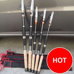 Cheap telescopic fishing rod, Buy Quality spinning rod directly from China carbon spinning rod Suppliers: Telescopic Fishing Rod Carbon Spinning Rod Olta Vara De Pesca De Carbono Para Carretilha Canne A Peche Fly Fishing Fishing Rod Bag, Fishing Tackle, Fishing Tips, Fishing Boats, Fishing Lures, Fly Fishing, Fishing Stuff, Saltwater Fishing, Telescopic Fishing Rod