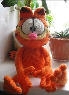 Amigurumi Free Patterns Garfield : Pinterest The world s catalog of ideas