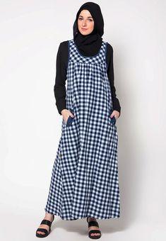 Model-baju-gamis-kombinasi-batik-terbaru-2017.jpg (709×1024)