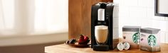 Verismo™ Machines | Starbucks® Store  OMG!!! Finally, could it be real!  Starbucks on tap!!!!  Right in my own kitchen!!!