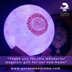 Quran Moon Lamp – Amin & Yasmin