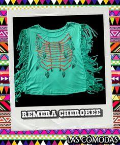 Remera Cherokee  Color: Verde acqua