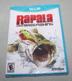 Rapala Pro Bass Fishing (Nintendo Wii U, 2012) FACTORY SEALED: $47.99 End Date: Sunday Feb-18-2018 14:36:59 PST Buy It Now for only: $47.99…