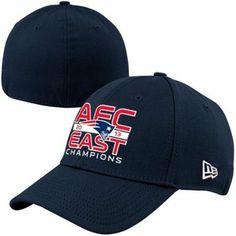 b6721541b New Era New England Patriots 2013 AFC East Division Champions 39THIRTY Flex  Hat - Navy Blue