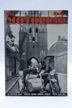 Zeitschrift ¨DAS MOTORRAD¨ Jahrgang 1932 / 22x / Oldtimer / Motorcycle / D in…