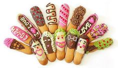 Happy Lifes.. Young Memories..: ♥ Pepero Day ♥ sticks