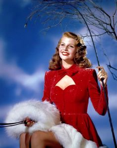 Rita Hayworth - Christmas 1940's