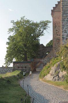 Oslo. Rocks castle