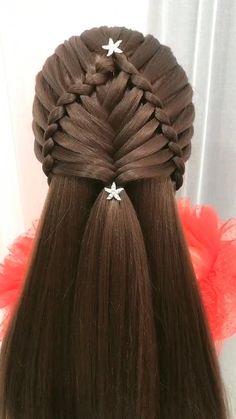 children,braid,like,so easy Hairstyles For Medium Length Hair Tutorial, Hair Tutorials For Medium Hair, Bun Hairstyles For Long Hair, Braids For Long Hair, Braided Hairstyles, Wedding Hairstyles, Holiday Hairstyles, Hair Up Styles, Medium Hair Styles
