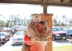 Jensen Homecoming - Camp Lejeune Homecoming Photographer - North Carolina Homecoming Photographer