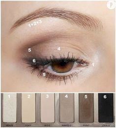 Urban Decay Naked Basics (Vorzeigetochter) eye make up makeup makeup up artistico up night party make up make up gold eye make up eye make up make up Makeup Hacks, Makeup Inspo, Makeup Inspiration, Makeup Ideas, Eye Makeup Tutorials, Makeup Jobs, Beauty Tutorials, Makeup Designs, Makeup Trends