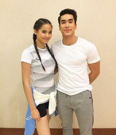 Love Ya, Thai Style, Sweet Couple, Actor Model, Celebrity Couples, Cute Couples, Actresses, Actors, Princess