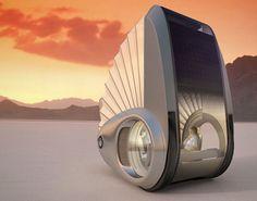 Car of the future-The Ecco Nau - futuristic look