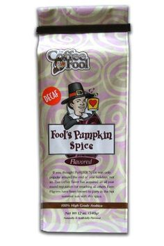 The Coffee Fool Espresso Fools Decaf Pumpkin Spice 12 Ounce *** You can find out more details at the link of the image.