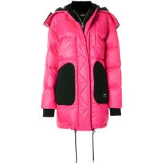 Versus oversized puffer coat (842675 SYP) ❤ liked on Polyvore featuring outerwear, coats, pink oversized coat, puffy coat, pink coat, oversized puffer coat and puffer coat