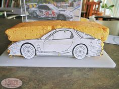 60 Best Car Cakes Images In 2015 Car Cake Tutorial Car Cakes