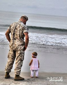 These photos tug at my heart strings. I just really need some military daddy and daughters to photograph!!