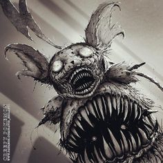 This Artist Reimagined 101 Pokémon Characters As Monsters, And They're Terrifying Spooky Scary, Creepy Art, Dead Space, Arte Horror, Horror Art, Photomontage, Illustrations, Illustration Art, Creepy Pokemon