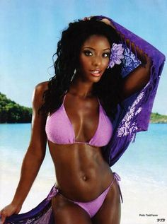 "sexy-ebony-girl: ""Ebony girl : http://ebony-bikini-fashion.blogspot.com/ """