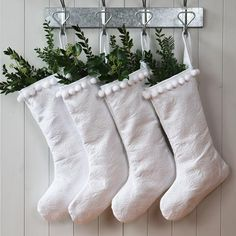 Pure White Christmas Santa Stocking by Hide & Seek Textiles, the perfect gift for Explore more unique gifts in our curated marketplace. Christmas Countdown, Christmas Home, Christmas Holidays, Christmas Ideas, Hygge Christmas, Christmas Inspiration, Vintage Christmas, Merry Christmas, Christmas Ornaments