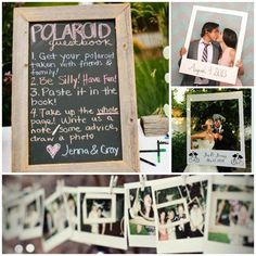 We can meet our aim of getting people to post their polaroids by writing an eyecatching prompt/encouragement.
