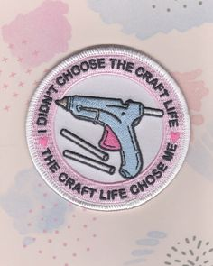 The Craft Life Iron On Patch Wear with Pride, to let others know your weekends are already booked. Designed in MiniHouse, from me to you! Size: 3W Comes on printed card stock backing Please Note this will ship Canada Post Letter mail, without tracking to keep costs low. If you prefer a tracking