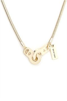 Marc Jacobs Handcuff Necklace