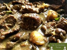 How to make beef stew without potatoes & tomatoes in Sri Lankan style? Stew Chicken Recipe, Beef And Potatoes, Stewed Potatoes, Curry Recipes, Beef Recipes, Indian Food Recipes, Asian Recipes, Kitchens