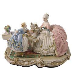 W Fine Porcelain China Diane Japan Product Porcelain Jewelry, Fine Porcelain, Porcelain Ceramics, Porcelain Skin, Porcelain Doll, Ceramic Bowls, Ceramic Art, Dresden Dolls, Dresden Porcelain
