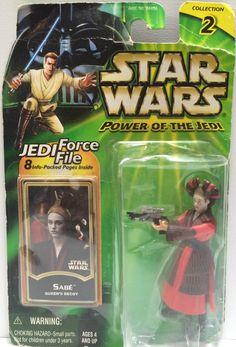 (TAS030610) - 2000 Hasbro Star Wars Power of the Jedi - Sabe Queen's Decoy