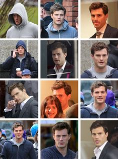 Mr. Grey sees you  (Jamie Dornan on the Set of FSOG - The Papz can't hide from him)