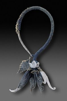Kim Z Franklin - beads with steel