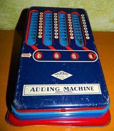 Vintage Wolverine Toy Adding Machine