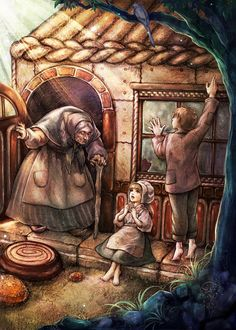 Henzel and Gretel by jurithedreamer on DeviantArt