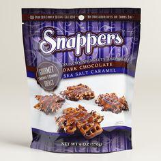 Snapper's Dark Chocolate and Caramel Sea Salt Pretzels