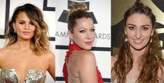 Grammys Red Carpet Beauty Trend: Peekaboo Braids: Very fancy boho. #SelfMagazine #GRAMMYs
